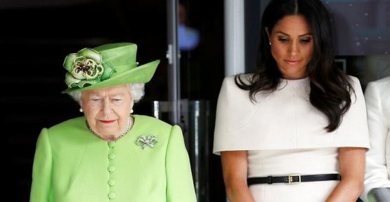 Here is the one word, the queen isn't about Meghan