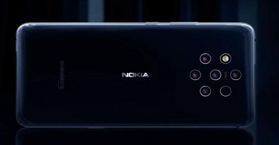A smartphone with five cameras at Nokia