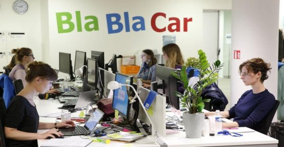 BlaBlaCar reduces emissions of CO2 by filling out the cars