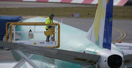 Boeing forced to suspend deliveries of its 737 Max after the crash in Ethiopia