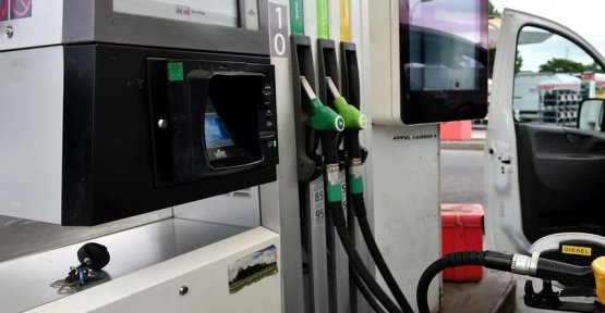 A service station offers fuel less expensive on the motorway