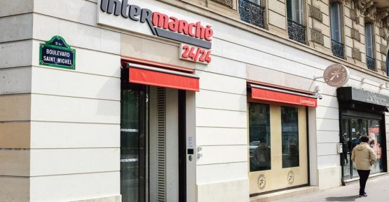 Intermarché launches in the battle of Paris