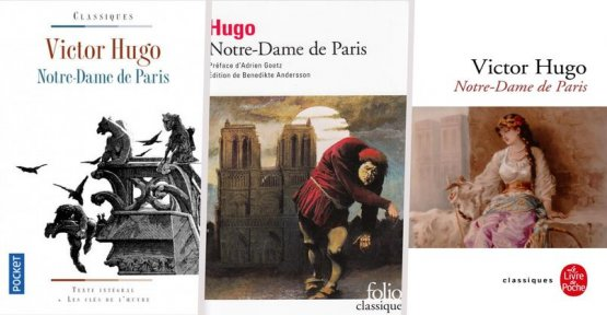 Our Lady : the profits from sales of the novel of Victor Hugo dedicated to the reconstruction