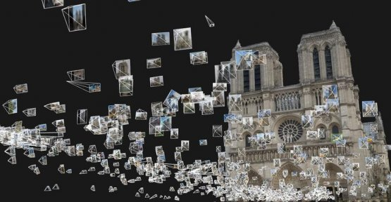 Open to Notre Dame, a project of sharing photographs of the cathedral for the reconstruction