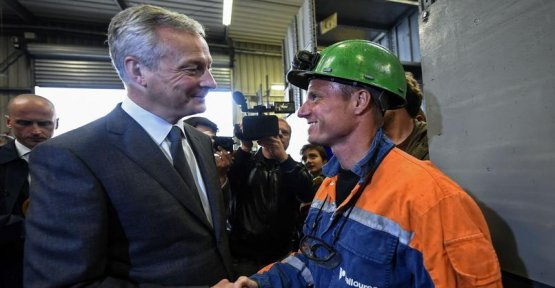 The buyer of Ascoval reassures the employees of the steel plant on its financial health
