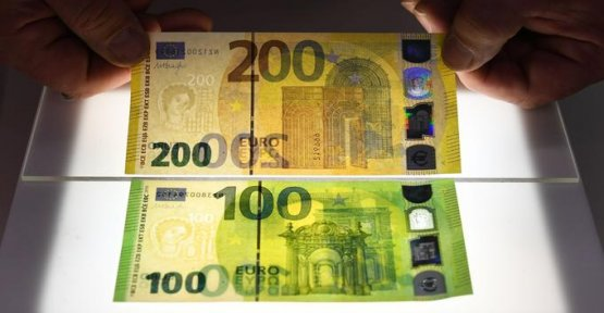 The new banknotes of 100 and 200 euro come into circulation this Tuesday