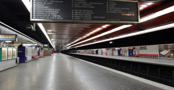 In Paris, air purifiers installed in metro stations and RER