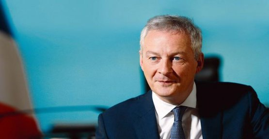 Bruno Le Maire : It should be a tax to the global minimum on the companies