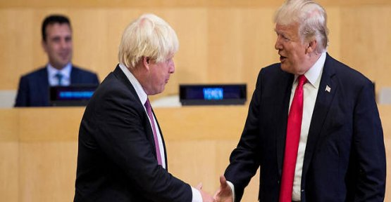 Trump and Johnson promise a free trade agreement ambitious