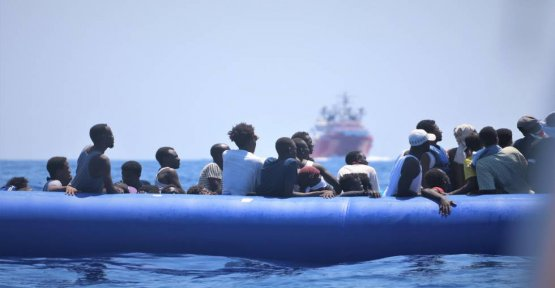 An NGO alert of a possible shipwreck with more than 100 migrants dead in front of Libya