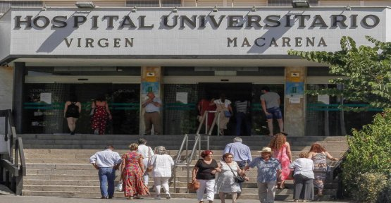 Increase the Emergency room visits in Seville, for fear of contagion by listeriosis