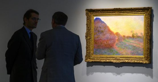 The art market lack of large pieces to sell