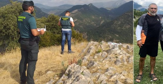 The tourist mexican lost in Huesca died of a cardiac arrest on the day he disappeared, according to the family