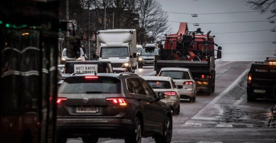 Trafikborgarrådet: a Ban on the older fossildrivna of the cars on the Contrast in winter