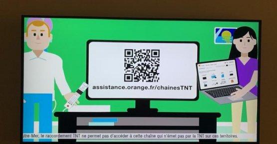 BFMTV loses his arm iron face Orange