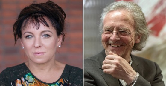 Olga Tokarczuk, Peter Handke receives the nobel prize for literature in the year 2018, and 2019