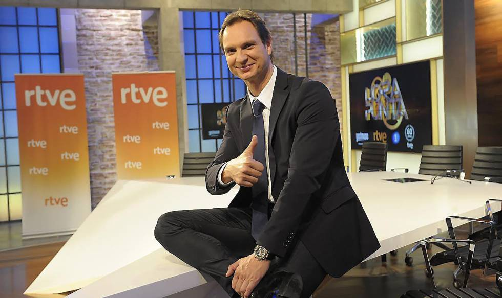 Javier Cardenas was raised to denounce TVE to cancel your program