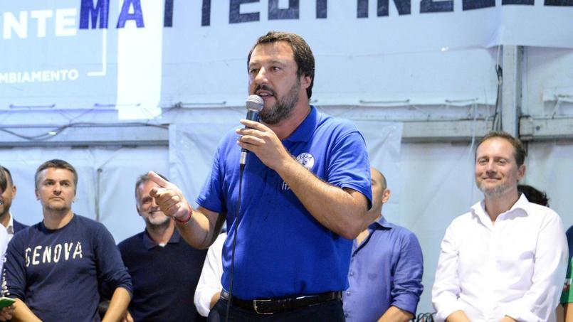 Italie : Salvini visé par une enquête
