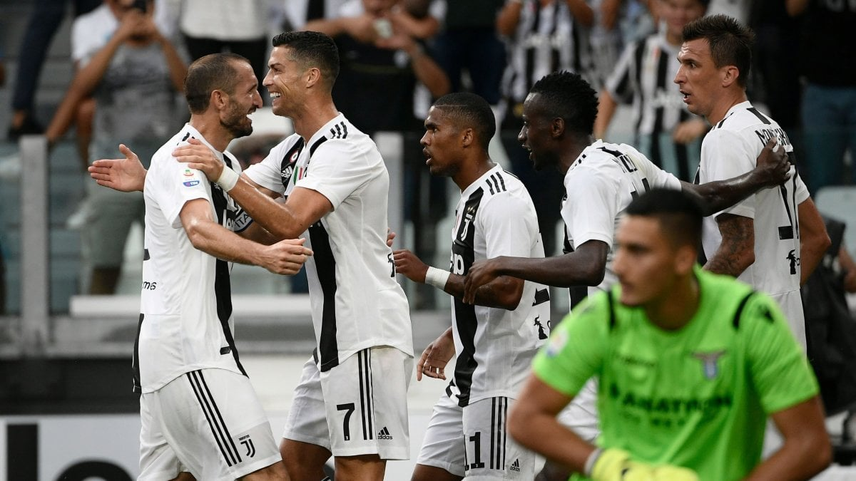 Juventus-Lazio 2-0: Ronaldo doesn't score but we think Totti and the French powerhouse