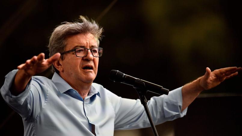 Mélenchon veut mettre une «raclée démocratique» à Macron aux européennes