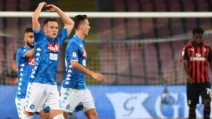 Serie A44; Napoli45;Milan 345;258; favoloso Zielinski44; Ancelotti ribalta Gattuso