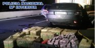 Stopped a narco with 450 kilos of hashish in the car...