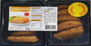 Salmonella found in cords blue sold at Intermarché and Netto