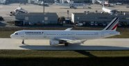 Air France penalized on the return flight...