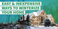 Easy and Low Budget Ideas to Winterize Your...