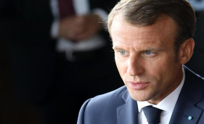 Macron stands as quot;main opponentquot; of the axis anti-immigration Orban and Salvini