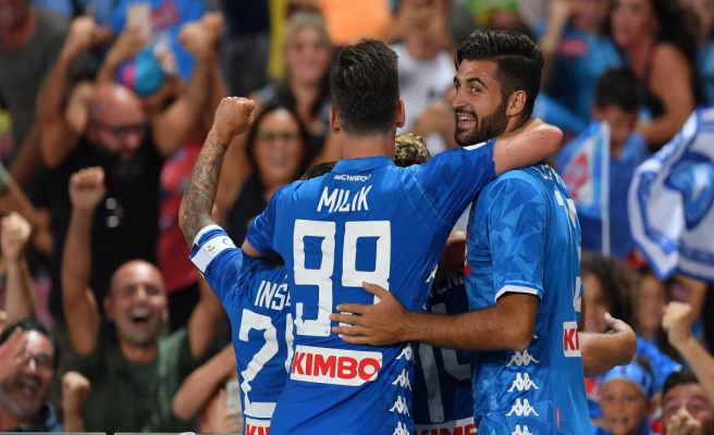 Napoli-Milan 3-2, Ancelotti still in recovery limelight Gattuso from 0-2 to 3-2