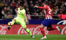 Luis Suarez, a two-week low in the Barcelona