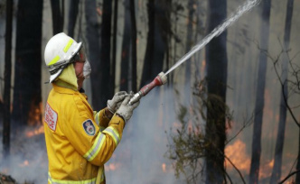 Bushfires in Australia: New heat wave intensified fires
