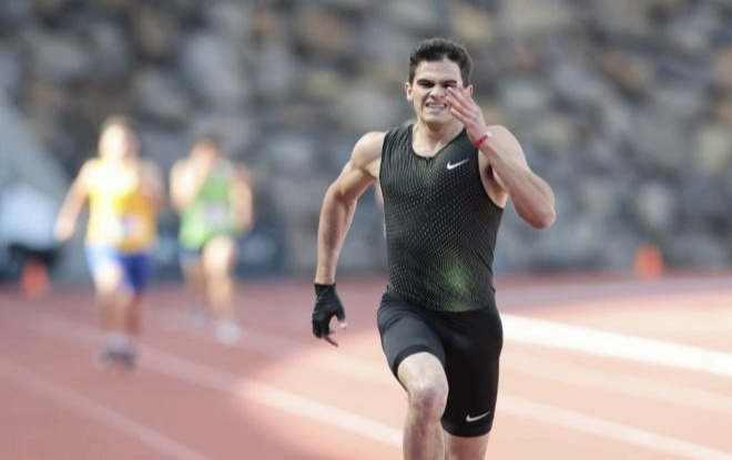 The show failed Bruno Hortelano: far from its record of 100 and 200 meters